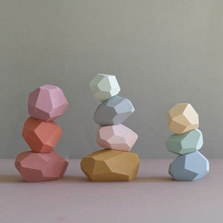 Balancing beads for kids - wooden baby toys