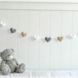 Bunting decor for baby nursery