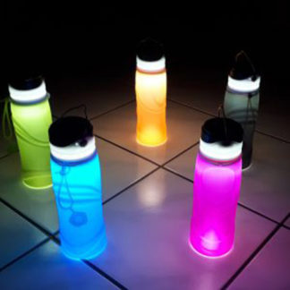 Silicone LED Water bottles for baby