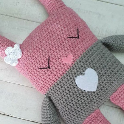 Bunny Love soft baby toy