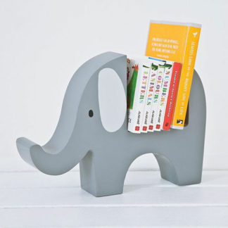 Elephant book holder for baby books
