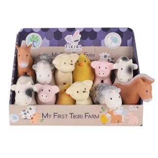 Tikiri farm toys & teethers for babies - t