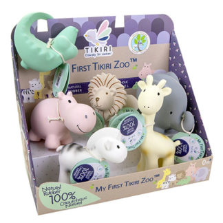Tikiri baby toys & teethers for babies - zoo collection
