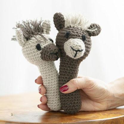 Llama Rattle baby toy