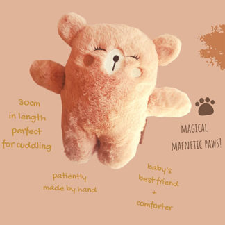 Soft bear toy for babies
