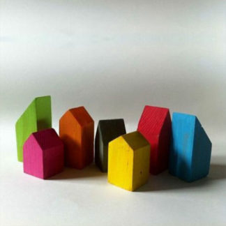 Wooden city - wooden toys for baby boy or baby girl