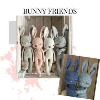 Bunny doll toy for babies - bunny friends