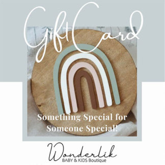 Wonderlik Gift Cards for Wonderlik Baby & Kids Boutique