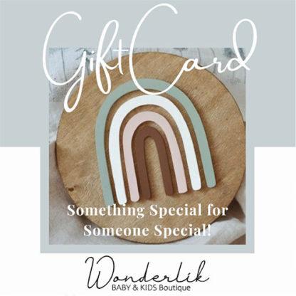 Wonderlik Gift Cards for Wonderlik Baby & Kids Boutique