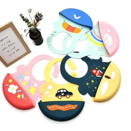 Silicone bib for babies